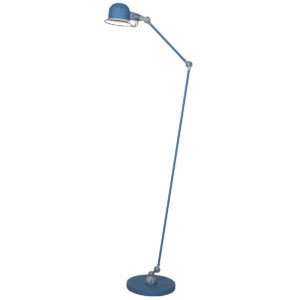 jikke blue floor lamp