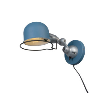 jikke blue wall lamp